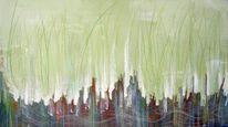 Skulptur, Malerei, Abstrakt, Gras