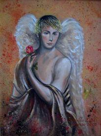 Malerei, Engel, Romantik,