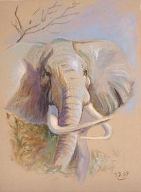 Figural, Malerei, Tiere, Afrika