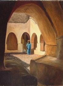 Malen, Zeitgenössisch, Arabisch, Figural