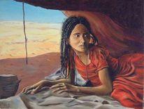 Zeitgenössisch, Arabisch, Malen, Gegenwartskunst