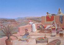 Modern, Arabisch, Contemporain, Orientalisch
