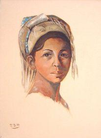 Arabisch, Malerei, Arabe, Orient