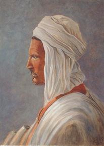 Figural, Malerei, Arabe, Araber