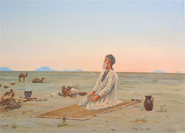 Wüste, Landschaft, Afrika, Orientalismus
