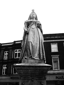 Queen, Schwarz weiß, England, Architektur