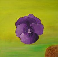 Stiefmütterchen, Malerei, Stillleben, Blumen