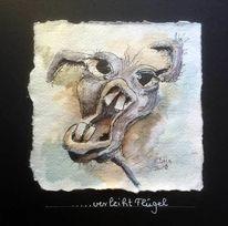 Esel, Humor, Karikatur, Zeichnungen