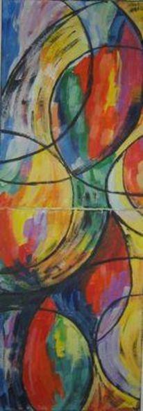 Simultantheorie, Delaunay, Abstrakt, Malerei