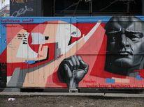 Stadt, Farben, Berlin, Graffiti