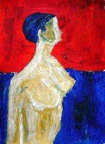 Ölmalerei, Malerei, Akt,