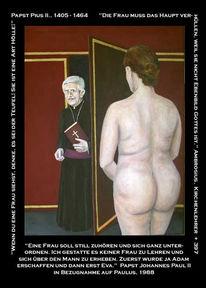 Figural, Frau, Akt, Malerei