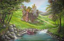 Kitsch, Hütte, Natur, Urlaub
