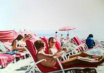 Menschen, Realismus, Meer, Malerei