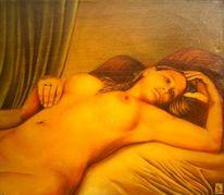 Warm, Malerei, Figural, Klassisch
