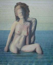 Wasser, Meer, Welle, Mann