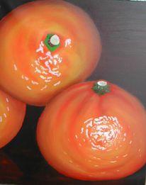 Clementinen, Früchte, Vitamin, Malerei