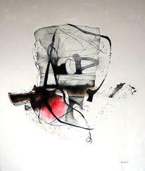 Herz, Ölmalerei, Abstrakt, Malerei