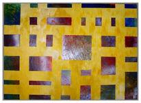 Malerei, Abstrakt, Wand