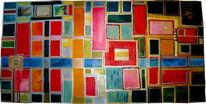 Fenster, Abstrakt, Malerei, Magie