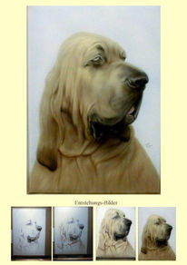 Hund, Airbrush, Freihand, Tiere