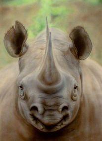 Airbrush, Freihand, Tiere, Portrait