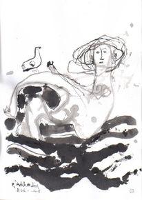 Illustration, Petrus, Kalevala, Wassermutter