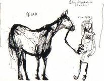 Reiter, Pferde, Petrus, Tiere
