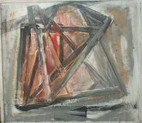 Farben, Holz, Abstrakt, Malerei