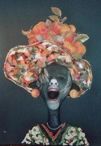 Karton, Collage, Acrylmalerei, Malerei