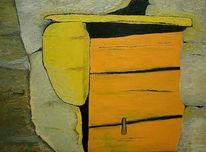 Malerei, Tür