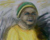 Kind, Zeichnung, Portrait, Zeichnungen