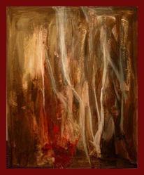 Abstrakt, Malerei, Heiligen, Versuchung