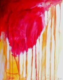 Malerei, Abstrakt, Komet