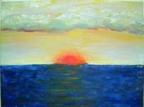 Malerei, Abstrakt, Mer