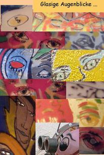 Fusing, Glas, Collage, Gemeinschaftsprojekte