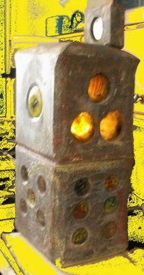 Würfel, Lampe, Licht, Speckstein