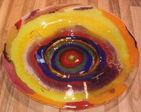 Wandbeschriftung, Glas, Kunsthandwerk, Popart