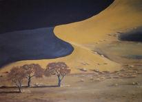 Sand, Landschaft, Malerei, Dünen