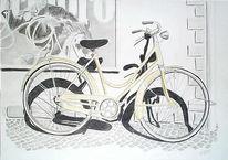 Alt, Grafik, Fahrrad