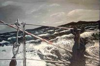 Fotorealismus, Malerei, Sturm