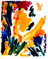 Gouachemalerei, Aquarellmalerei, Malerei