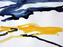 Gouachemalerei, Aquarellmalerei, Aquarell