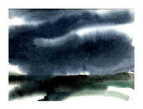 Aquarellmalerei, Gouachemalerei, Aquarell, Landschaft