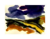 Aquarellmalerei, Gouachemalerei, Aquarell, Weg