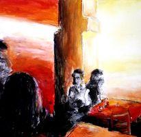 Licht, Cafe, Rot, Bohne