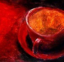 Bohne, Café, Espressotasse, Tasse