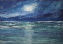 Meer, Sturm, Wind, Blau