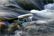 Fotografie, Fluss, Wasser, Winter