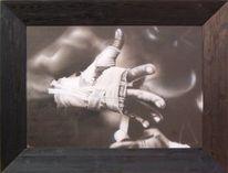 Schwarz weiß, Boxen, Finger, Körper